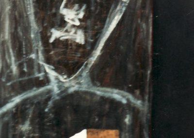 Un tableau de l'exposition/installation Tremblement d'éon,